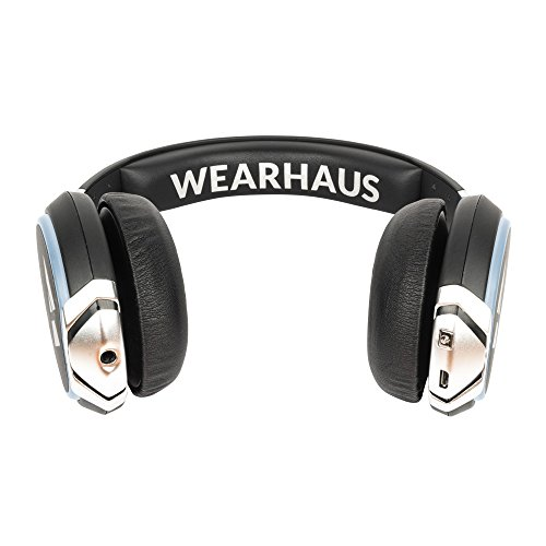 799dfac48de Wearhaus Arc Bluetooth Headphones with Customizable Lights, Touch Controls,  and Wireless Audio Sharing –