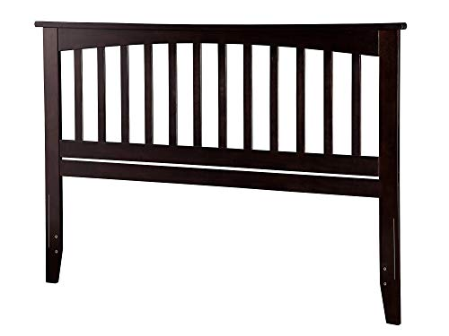Atlantic Furniture AR287841 Mission Headboard, Queen, Espresso