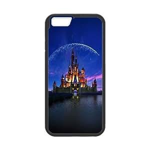 iPhone 6 4.7 Inch Cell Phone Case Black Disney Castle Artwork Illust Sky OJ522171