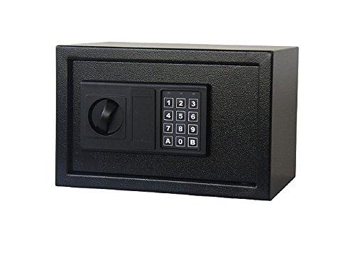 Stalwart Electronic Premium Digital Steel Safe, Black 1 ea