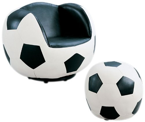 Acme 05525 2-Piece All Star Set Chair and Ottoman, Soccer by ACME