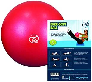 Fitness-Mad Yoga o Pilates Exersoft, Exer-Soft Ball, 9/Red, Rojo ...