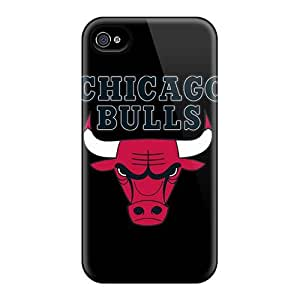 Cases Covers Compatible For Case Iphone 4/4S Cover Hot Cases/ Chicago Bulls
