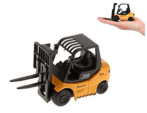 Grocery House Kids Alloy Truck Forklift Vehicle Model Toy