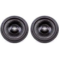 (2) Skar Audio VVX-15v3 D2 15 1200W Max Power Dual 2 Subwoofer