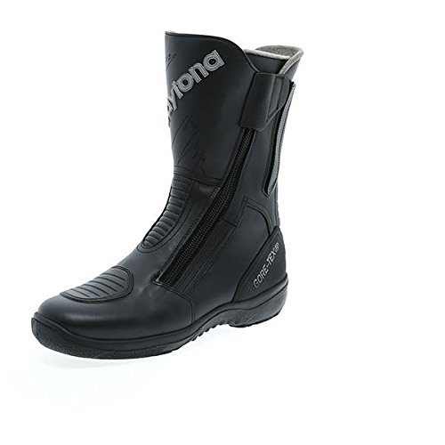 Daytona Road Star Gore Tex Regular Fit Black Leather Motorcycle Boot Size EU46, UK11