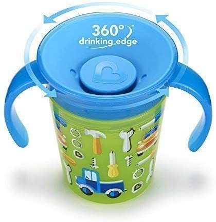 Baby Trainer Drinking Cup Decor 360° Sippy Cup Anti Spill