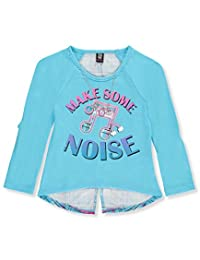 Star Ride Little Girls' L/S Top with Necklace