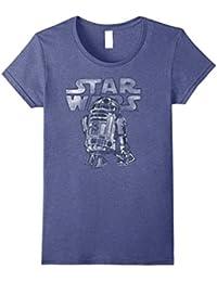 R2-D2 Vintage Style Graphic T-Shirt C1