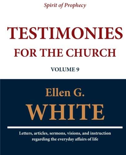 Download Testimonies for the Church (Volume 9) PDF
