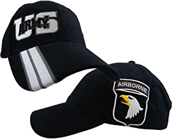 US Army 101st Airborne Side Logo Ball Cap