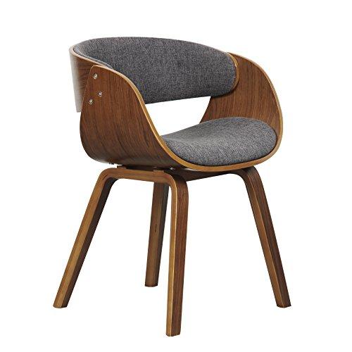 Porthos Home Charleston Side Chair , Grey