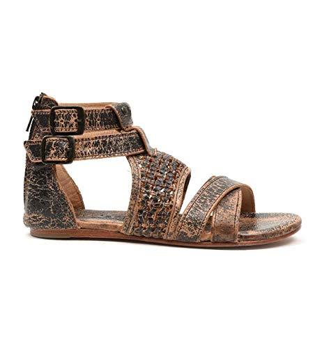 - Bed Stu Women's Capriana Leather Sandal (9 M US, Teak Lux)