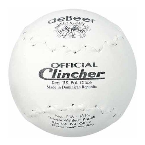 deBeer Rawlings Sporting Goods F16 Official Clincher Softball ()
