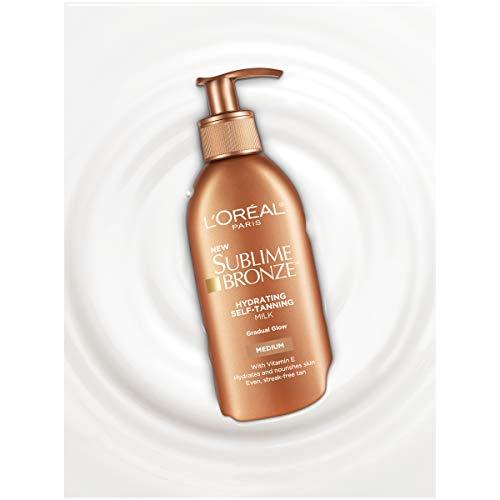 L'Oréal Paris Sublime Bronze Hydrating Self-Tanning Milk, Medium, 5.5 fl. oz. by L'Oreal Paris (Image #3)