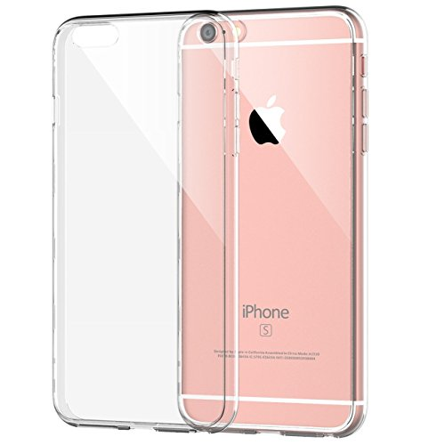 iPhone 6 Plus Case, JETech Apple iPhone 6s/6 Plus Case 5.5 Inch Bumper Cover Shock-Absorption Bumper and Anti-Scratch Clear Back for iPhone 6s Plus and iPhone 6 Plus 5.5 Inch - 0701