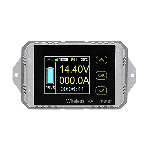 Wireless Battery Monitor Voltage Current Meter DC 0~400V -300A~ +300A Watt Power Capacity LCD Digital Tester