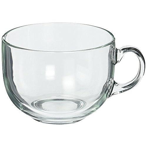 clear mugs amazon com