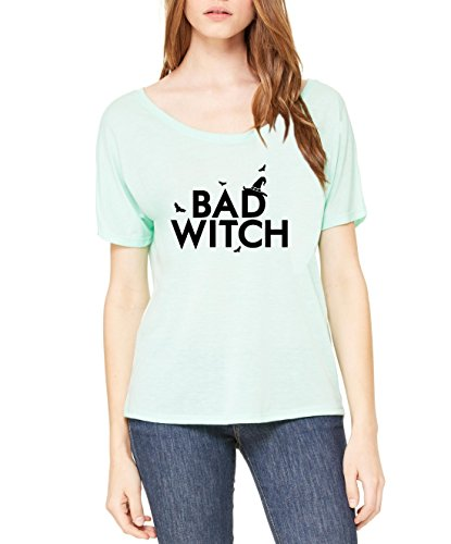 Mom's Favorite Halloween T-Shirt Bad Witch Matching Couples w Good Witch Party Costume Idea Womens Shirts - Costume Ladies Ideas For Halloween Single