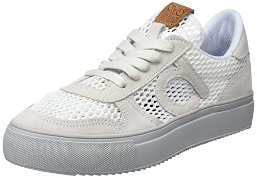 DUUO Radio, Zapatillas para Mujer Blanco (White)