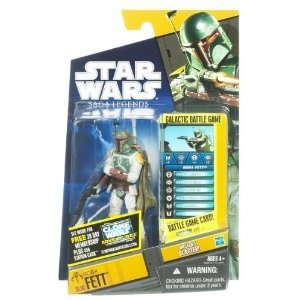 Star Wars Saga Legends 2011 Boba Fett #SL30 3.75 Inch Scale