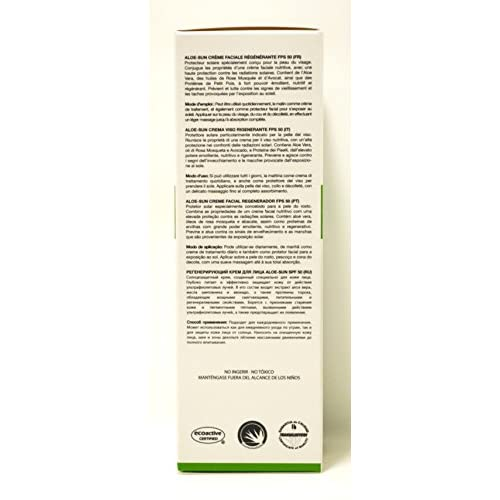 Aloe de Sun Regenerating Facial Cream SPF 5050ml