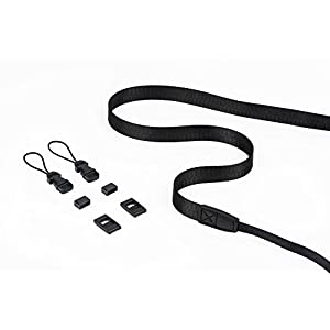 DOROM Universal Adjustable Slim Shoulder Sling Neck Strap for All Camera DSLR SLR (Black)