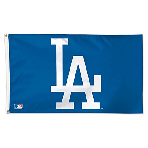MLB Los Angeles Dodgers 01778115 Deluxe Flag, 3' x 5'