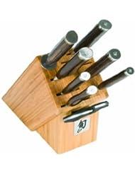 Shun TDMS0900 Premier 9 Piece Gourmet Block Knife Set
