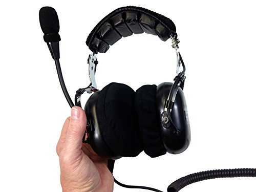 CRAZEDpilot HELICOPTER ANR ACTIVE noise reduction headset ()