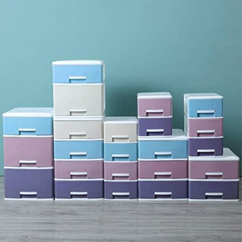 Schreibtisch Student Schreibtisch Schublade Schrank Kunststoff Multi-Layer (Empfangsbox) Mittel 3 Stockwerke