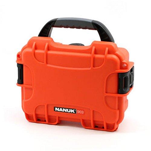 Nanuk 903-1003 Hard Plastic Waterproof Case with cubed foam insert by Nanuk