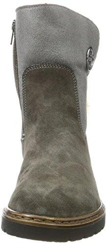 Jenny Women's Portland-St Slip Boots, Fumo/Graphit Weite G Grau (Fumo,graphit)