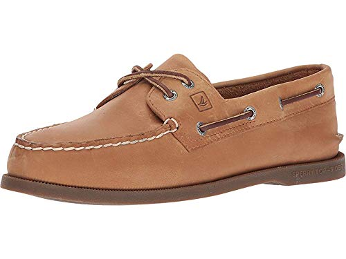 SPERRY Top-Sider Authentic Original Leather Boat Shoe Men 13 Sahara Leather