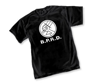 Graphitti Hellboy BPRD T-Shirt XX-Large Black
