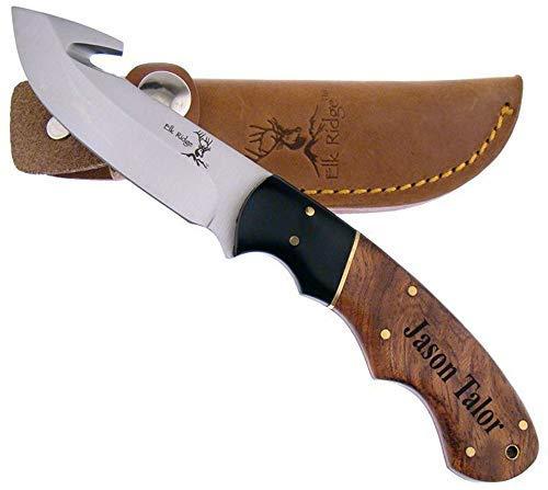 Elk Ridge Free Engraving ER-198 Fixed Blade Knife 7.5