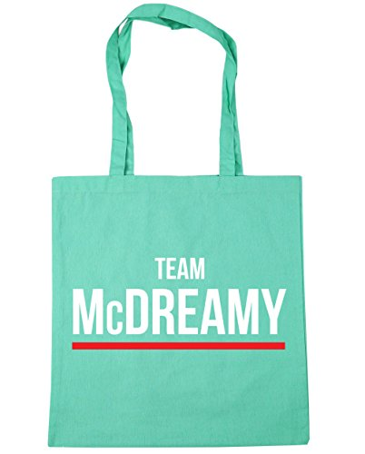 Bag Shopping HippoWarehouse Gym 10 McDreamy Mint litres Team Beach Tote 42cm x38cm tYwYqrB