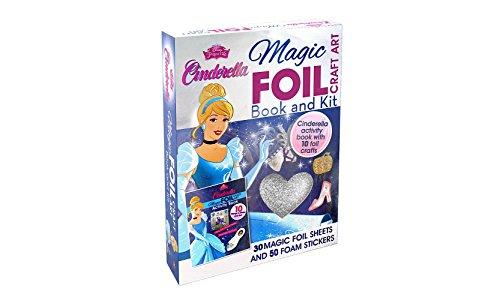 Cinderella Magic - Disney Princess Cinderella Magic Foil Craft Art
