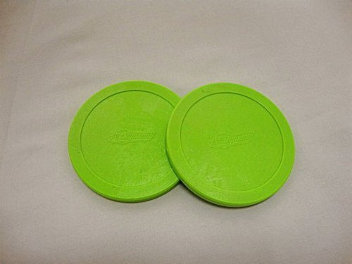 Buy 2 Dynamo Brand 3.25 Lg Green Hockey Air Pucks