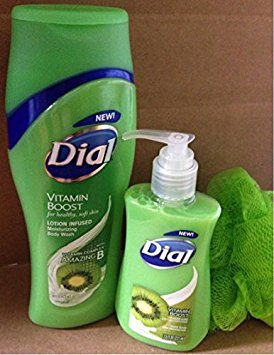 Dial Hand Soap with Moisturizer Vitamin Kiwi Vitamin Boost Vitamin and Lotion Infused 7.5 Fl Oz