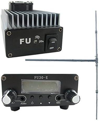 Transmisor de radio FM amplificador FMUSER FU-30A 30 W + 2W ...
