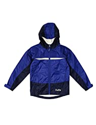 TUFFO Big Boy's Adventure Rain Jacket RJB003, Blue, 10-12