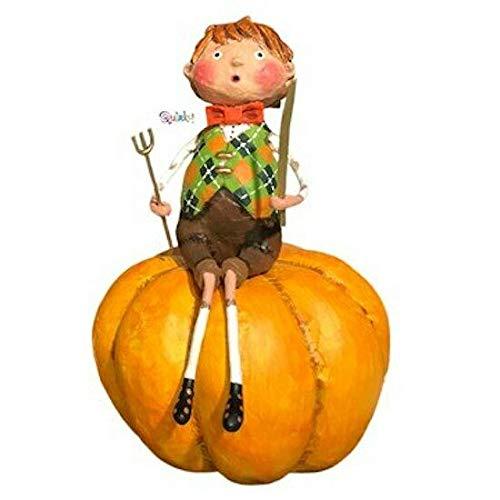 Kinks & Quirks Peter Pumpkin Eater Figurine by Lori Mitchell New]()