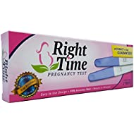 Right Time Prank Joke Pregnancy Test/Always Turns Positive (Pack of 2)