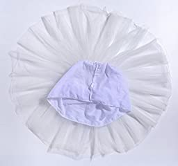 Baby Toddlers Girls Tulle Skirt Super Soft Classic 5 Layers Princess Tutu Skirts (6M-15Years)