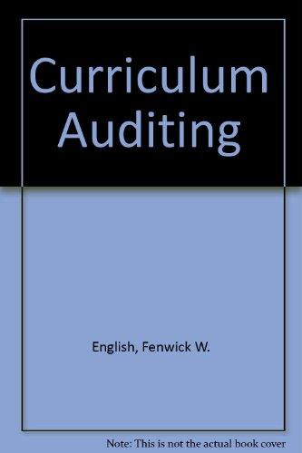 Curriculum Auditing