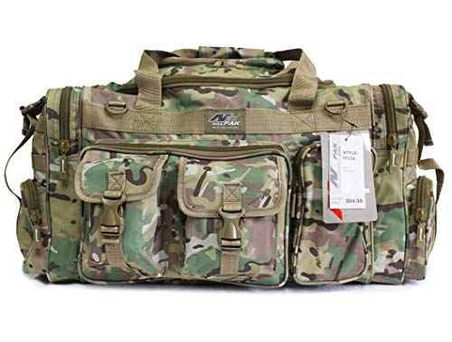 Nexpak Tactical Duffle Military Molle Gear Shoulder Strap Range Bag (Multi Colors/Sizes)