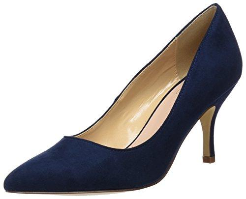 Azul Cerrada Blu BATA Punta de con 9 para Tacón Zapatos Mujer 729199 qHqwaOSz