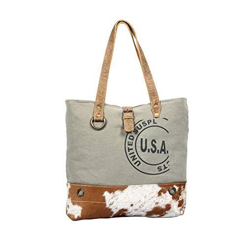 Myra S1294 USA Stamp Tote Bag