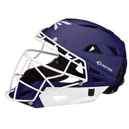 Easton Fastpitch Grip Catcher's Helmet, Purple, Small (Helmet Purple Catchers)